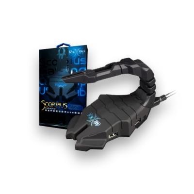 Hub Usb Scorpius Gaming Cable Clip